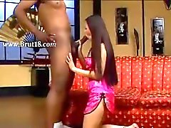 brutal oral intercourse with a black man