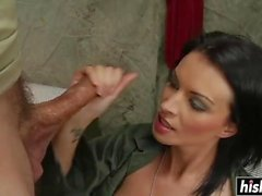 Bailey Brooks gets a hard dick