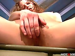 Homeless Teen Squirts For Money