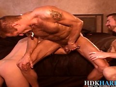 Fetish gay ass gets toyed