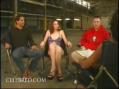 Lisa Marie Double Teamed In Warehouse