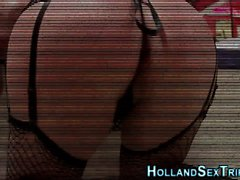 pipe brunette doggystyle hd