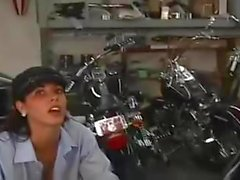 femdom strapon biker