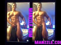 Dominican Muscle Boy Maravilla Striptease Clip