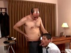 Director Daddy Fucks His Worker