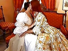 Two naughty lesbian teens lick and finger on cam
