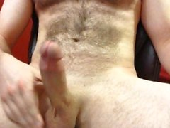 watching gay porn and edging to a huge hands free cumshot