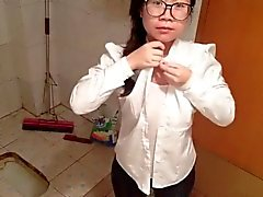 amateur asiatique chinois étudiante