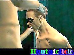 homossexual casal gay em pêlo hentai