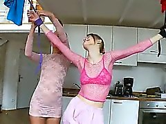 21yo russian chicks playing with toys