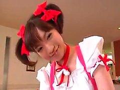 amateur asiatique japonais lécher uniforme