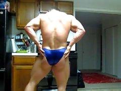 задница - постановки культурист мышца гей