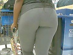 Candid Mature Latina Booty