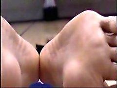 siyah ve abanoz ayak fetişi kore masaj