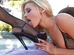 carli banks karlie montana lesbienne masturbation blond