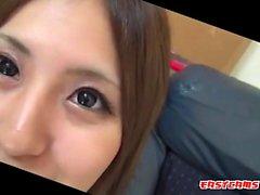 amateur asiatisch chinesisch close-up gähnend