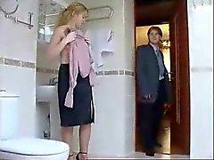 Sexy Toilet Fuck