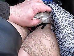 knipperende lingerie publieke naaktheid