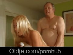 Amazingly hot porn model Kiara Lord bliss old fart with her fresh pussy