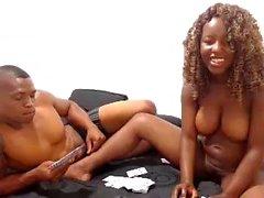 Cute big boobs ebony camgirl