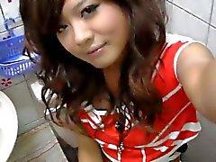 amateur aziatisch close up