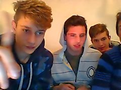 4 Str8 Italian Boys Go Gay, Have Fun On Cam (Or Are Gays?)