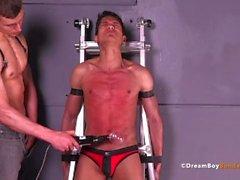 dreamboybondage gay bondage bdsm sem cortes twink chicoteando spanking electrocussão jared