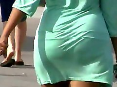 Candid ASSES in dresses and skirts