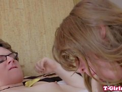 Young amateur trannies cocksuck and buttfuck