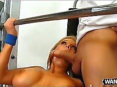 Nikki Sexx Gets Herself A Workout And Then Some