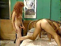 Hermaphrodite Dane Harlow Meets Ron Jeremy & His Girlfriend