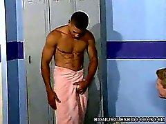 Locker Room Muscle Man Fuck