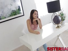 Wonderful Kylie has lust for her stepbro who gives it to her