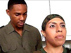 anaal zwart en ebony klaarkomen
