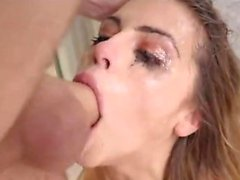 Hot pornstar extreme anal and cumshot