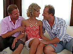 Ioana is good looking curly haired european beauty that loves - adult tube Pornsharing