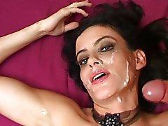 masturbação sexo oral cabelo preto latino boquete