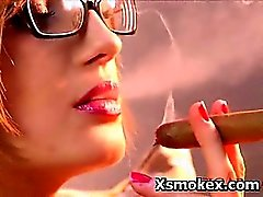 amateur rubia fetiche de fumar