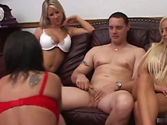 Alexis Silver, Riley Evans and one of their...