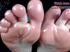 Baby Oil Feet