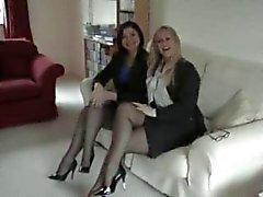 dilettante femdom feticismo del piede calze