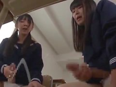 Futanari Students Cumshot Compilation