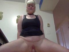 bbw big ass blondiner hd-video