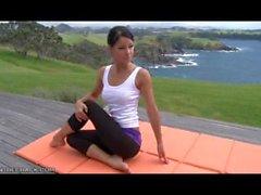 melisa mendiny al aire libre yoga - pantalones de la yoga checo