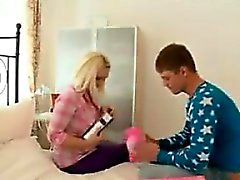 Chubby Blonde Teen Gets Fucked