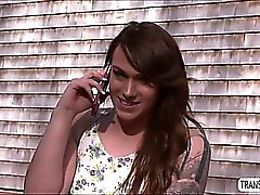 TS Chelsea gives Jaxton an erotic anal