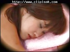 Japanese Lesbian Seduction During Massage