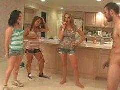 Samantha, Madison and Emily - Ball Kicking Promo Outtakes