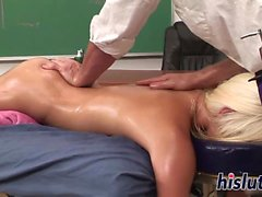 Sexy Shay gets fucked in the classroom