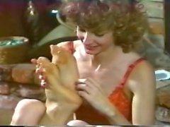 retro agradam pés de engraçado vintage pé
